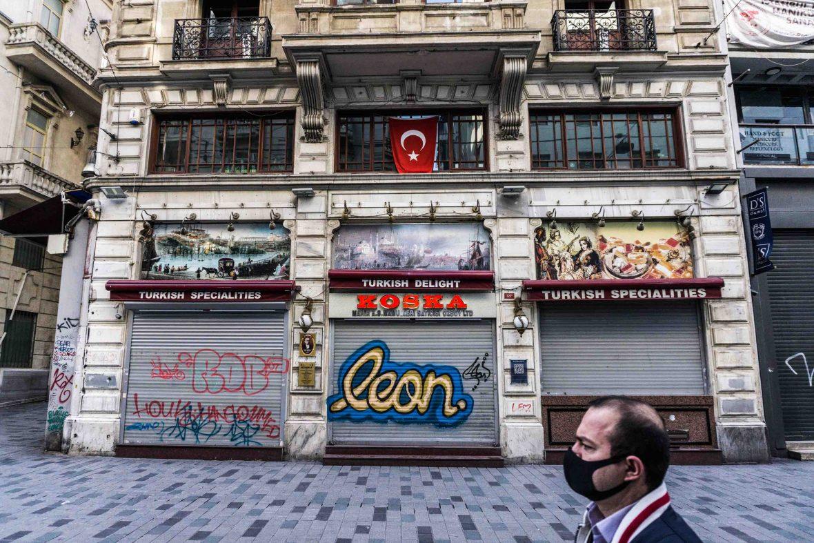 İstiklal Avenue, Istanbul, Turkey