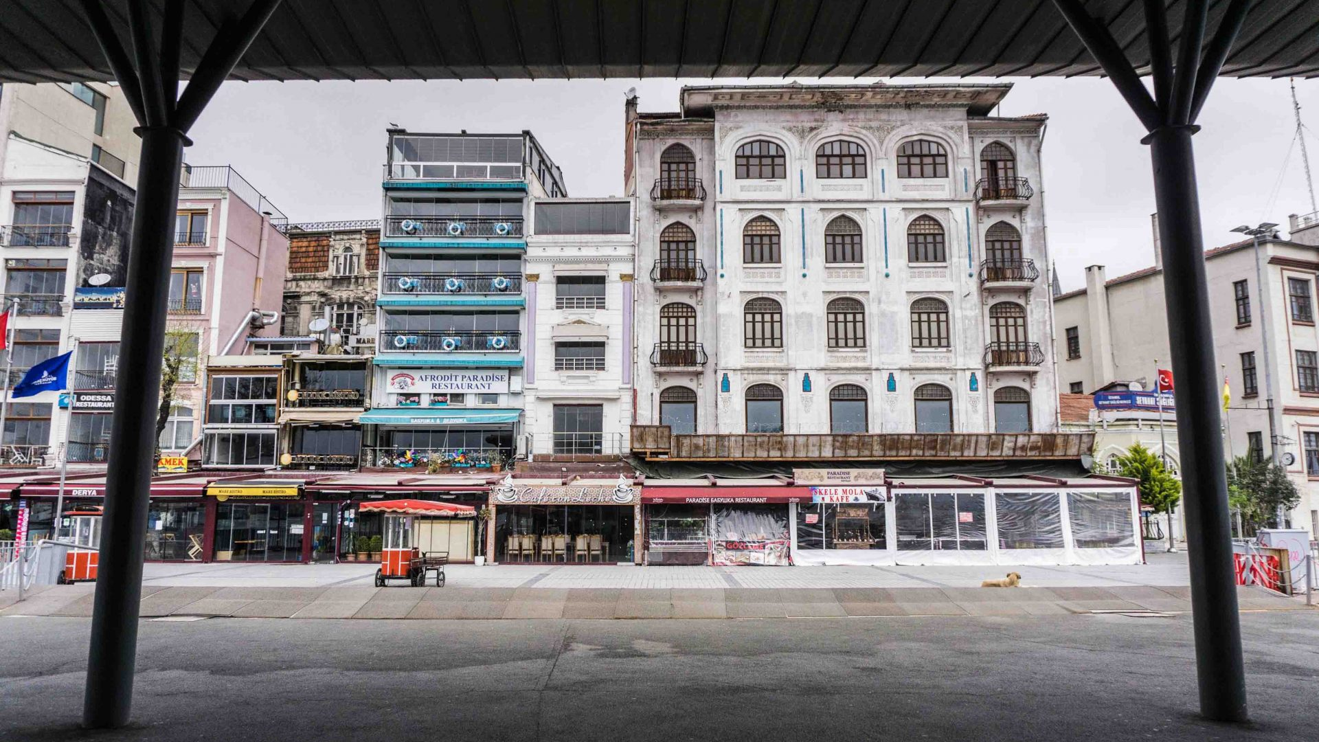 Karaköy is a waterfront district with a mix of old-school Istanbul and cool new art and bars.