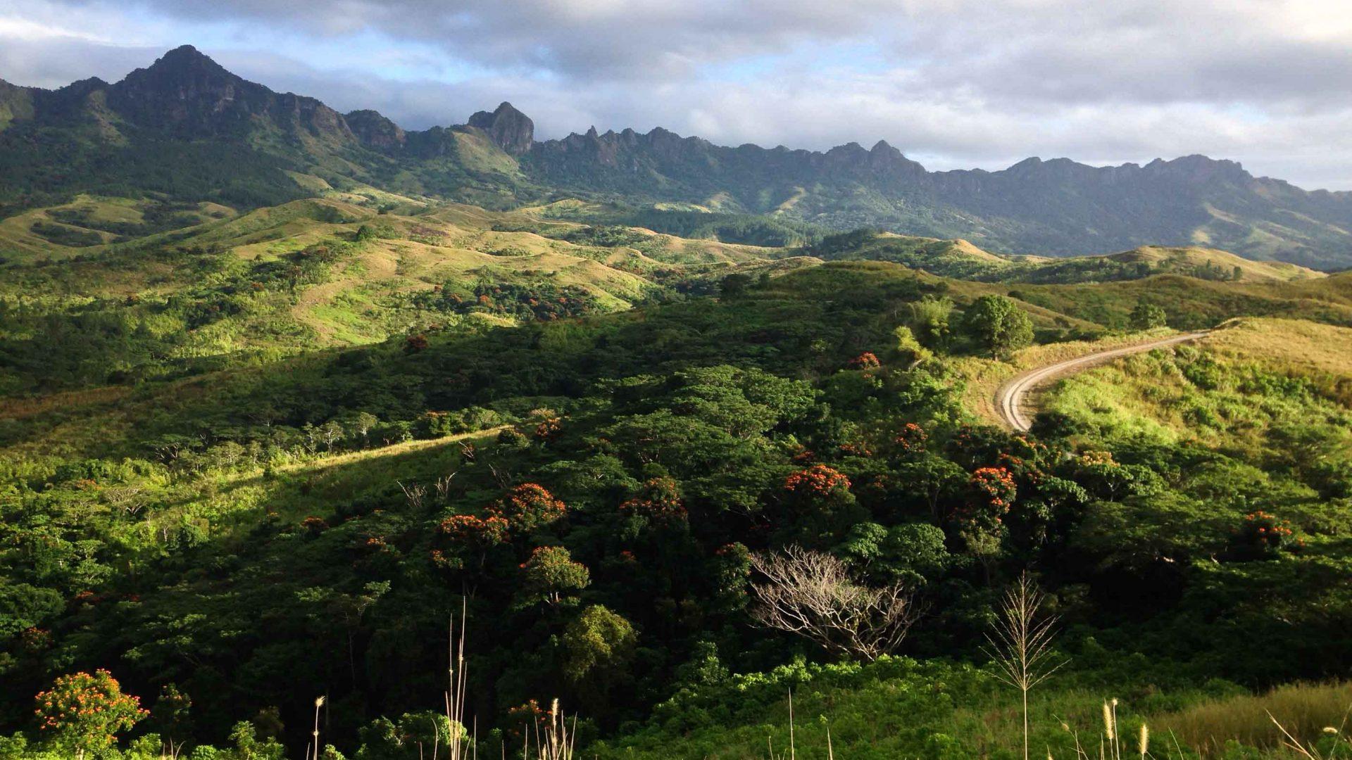 Naloto range near Navala village.